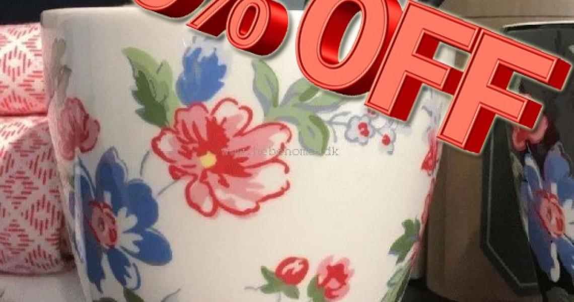 FødselsdagsFesten Brager afsted   Spar 70% på Lattekoppen!