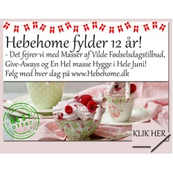 Hebehome fylder 12 år  - Det fejrer vi med masser af Tilbud i Hele Juni måned