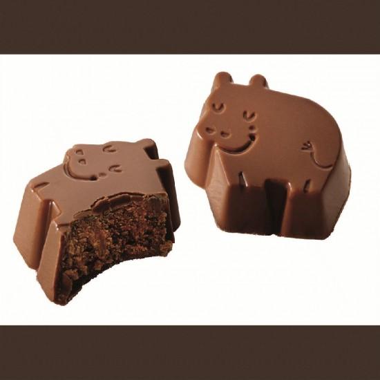 Drømmechokolade med nøddetrøffel