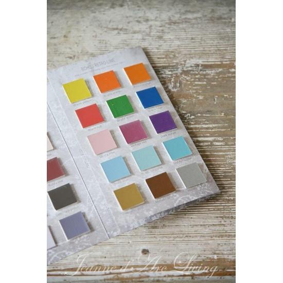 Farvekort Kalkmaling ONLINE Vintage Paint Alle farver
