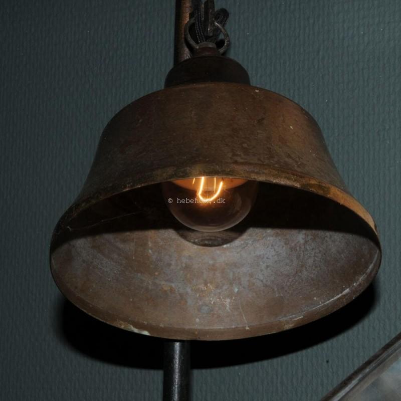 Tidsmæssigt Gammel smuk fransk skomagerlampe i jern C2492 BT-29