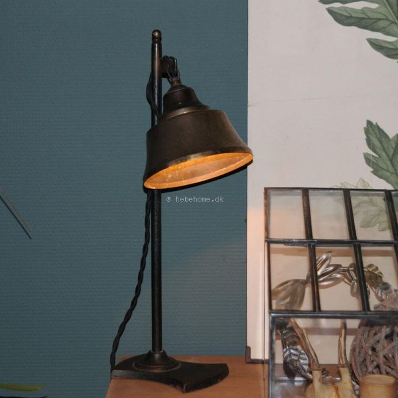 Efterstræbte Gammel smuk fransk skomagerlampe i jern C2492 WX-53