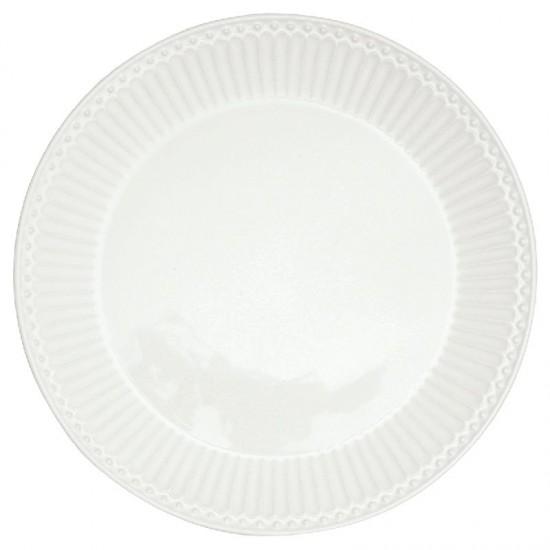 Greengate Frokosttallerken Alice white