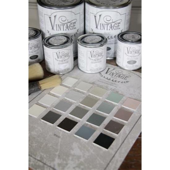 Lys Grå Voks Vintage Paint 370 ml