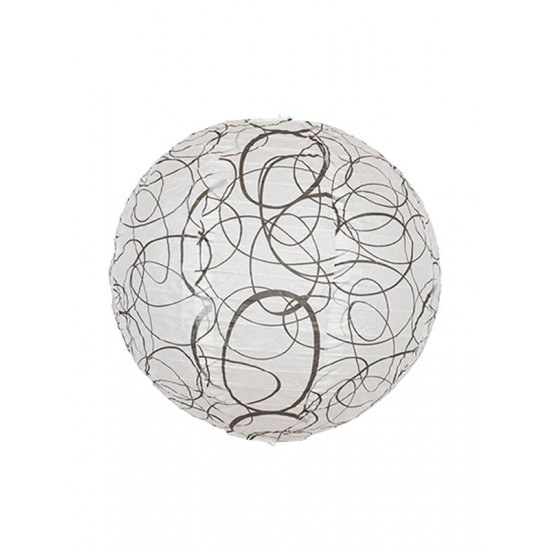 Cirkel Rispapir pendel Ø35cm (48)