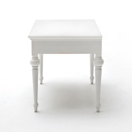 Hvidt skrivebord - 120cm