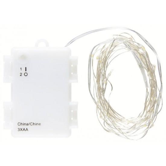 Udendørs Lyskæde 40 LED - mini