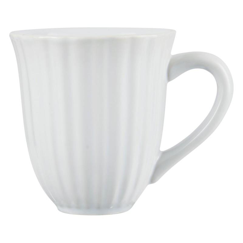 12 hvide stentøj Kaffekrus - Ib Laursens Mynte 2088-11C