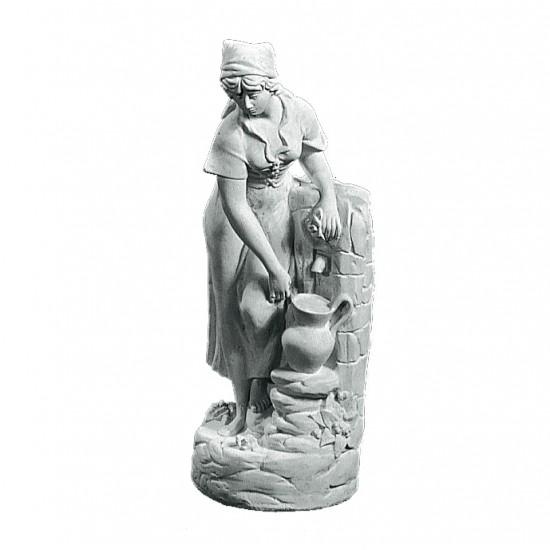 Niobe 55 cm - Frostsikker havefigur i marmor