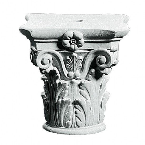 Kapitæl Sokkel 39 cm - Frostsikker sokkel i marmor
