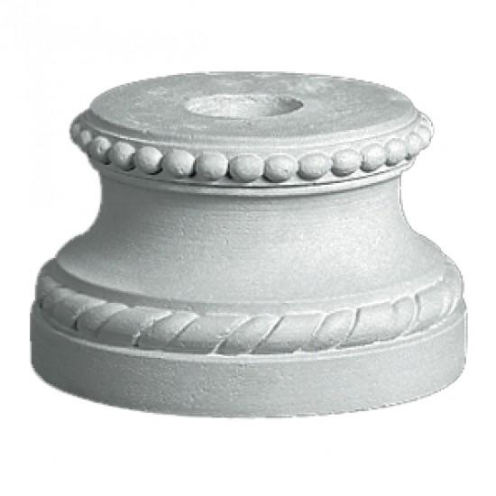 Sokkel 32 cm - Frostsikker sokkel i marmor
