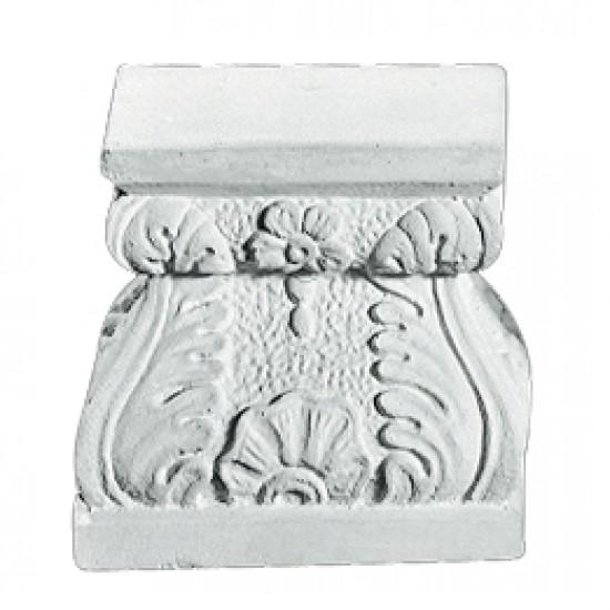 Sokkel 27 cm - Frostsikker sokkel i marmor