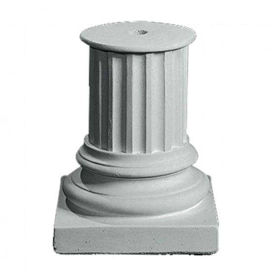 Sokkel 42 cm - Frostsikker sokkel i marmor