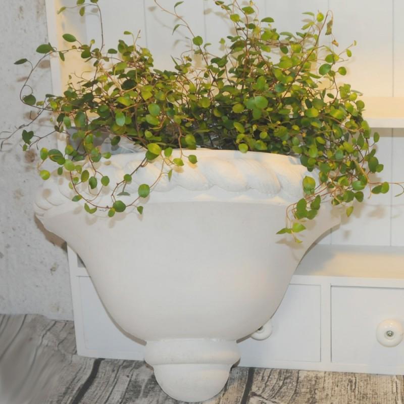 Fasjonable Marmor blomster potte til væg - 20cm høj 30cm bred BL753 KK-46