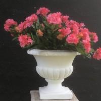 Stor Have Krukke pokal i marmor - frostsikker 49 cm