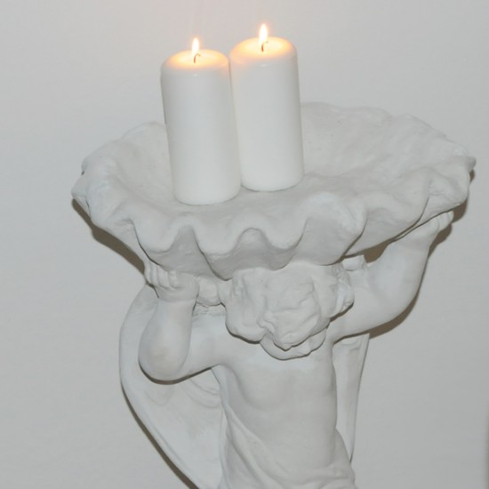Stor Engel i marmor 62 cm