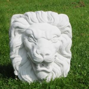 Marmor Løvehoved til springvand