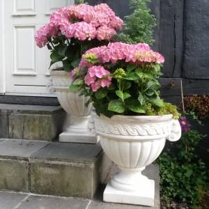 Blomster krukke til haven - frostsikker H: 40 cm Udsillingsmodel