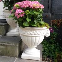 Blomster krukke til haven - frostsikker H: 40 cm