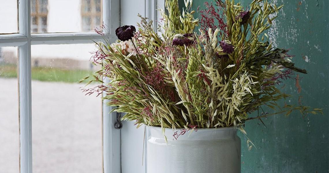 Nyheder -Bløde Hynder, Flotte lamper, Tørrede blomster & Meget meget mere!