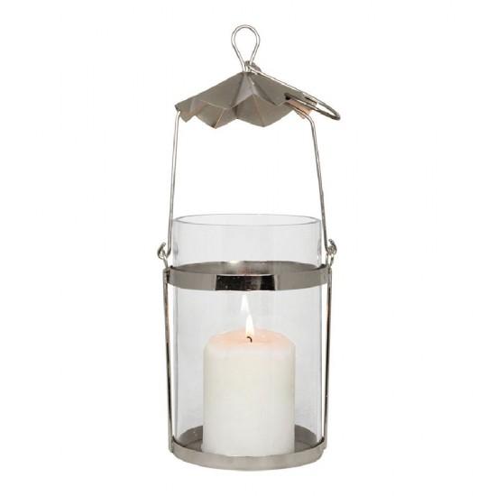 Smuk hængende lanterne sølv
