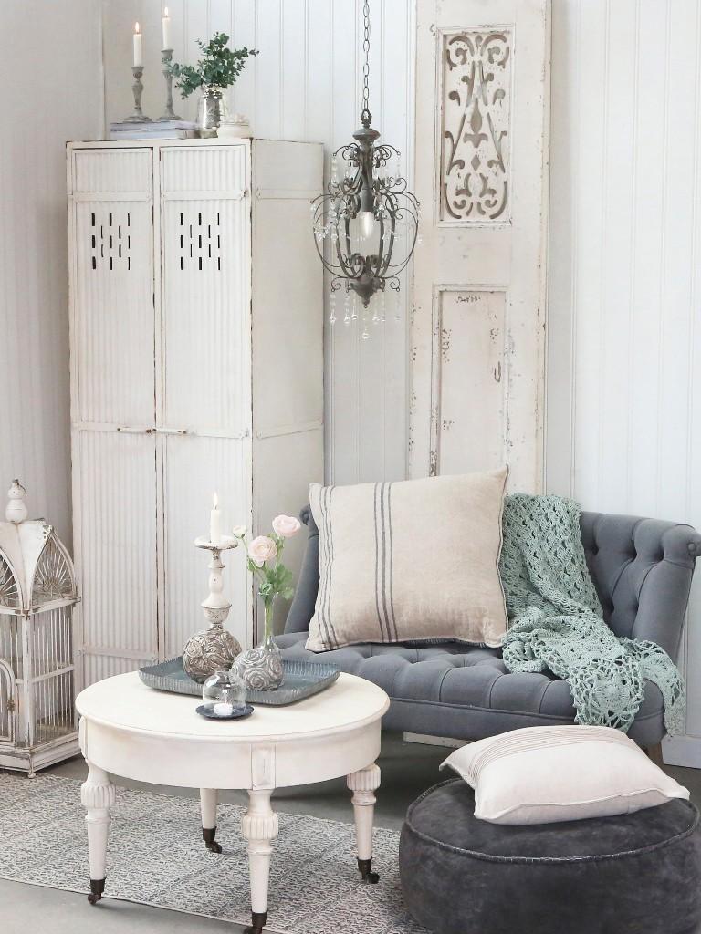 Møbler med patina, charme og sjæl