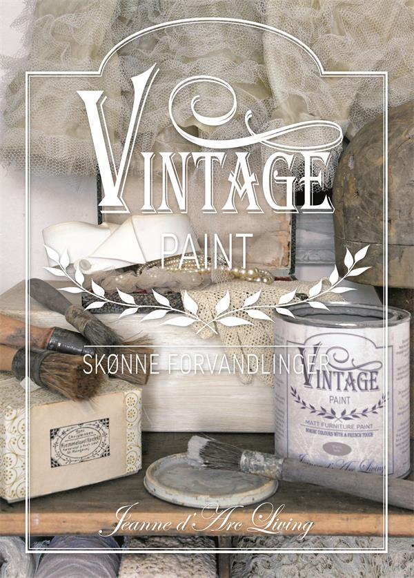 vintage Paint Bogen