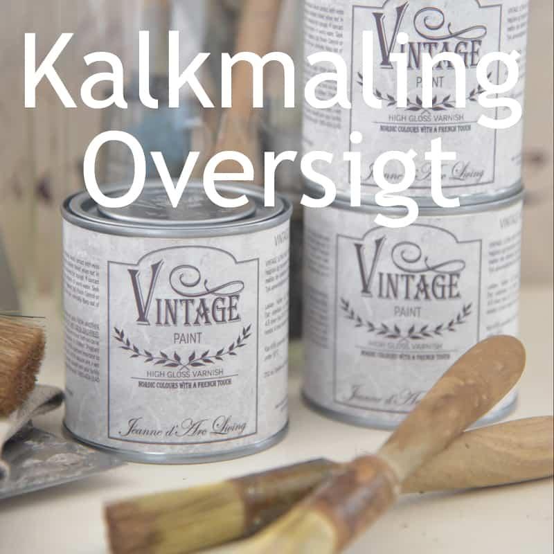 Kalkmaling Oversigt