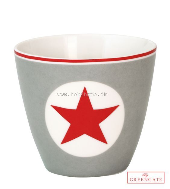GreenGate Big star red AW14