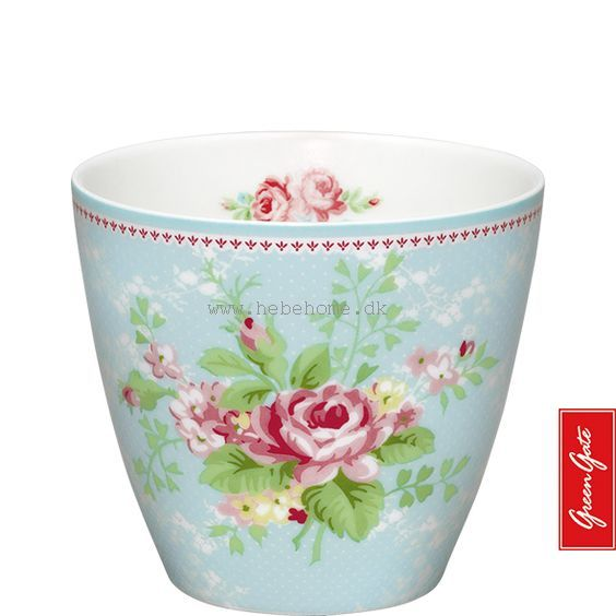 GreenGate Latte cup amy pale blue SS13