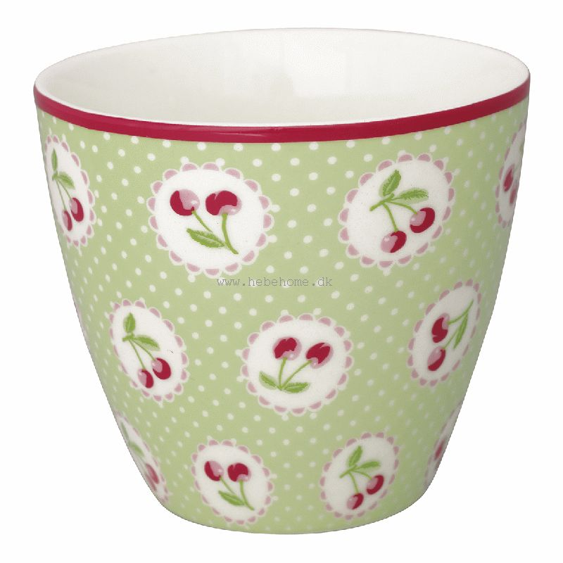 GreenGate Cherry Berry Pale Green SS19