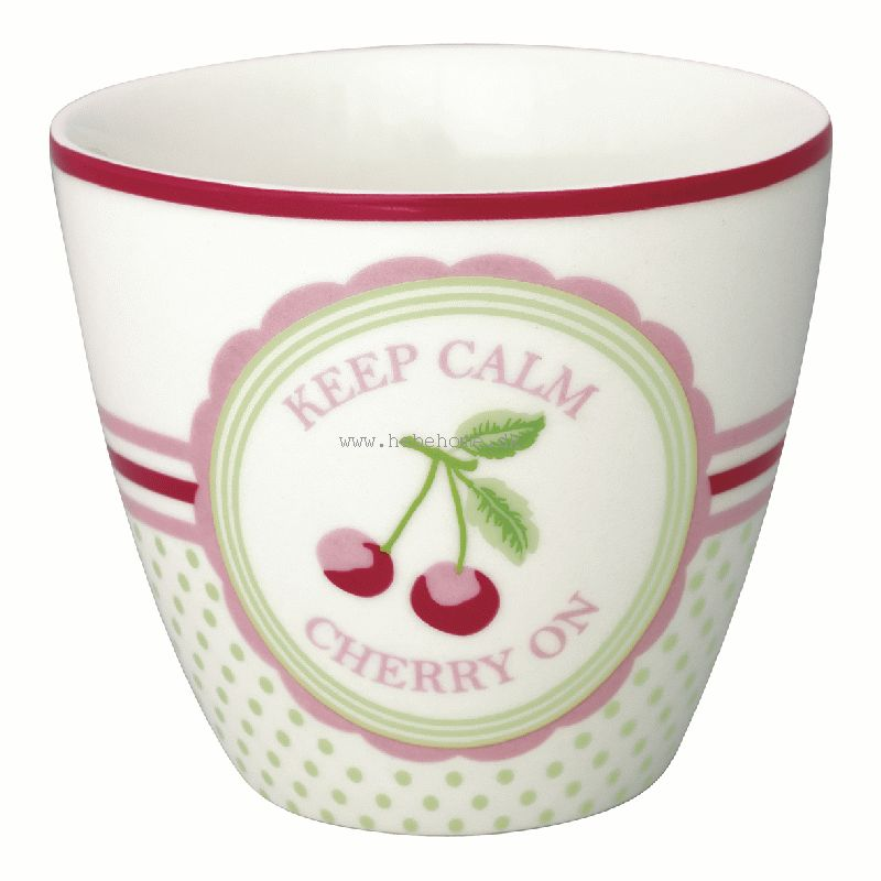 GreenGate Cherry Mega White SS19