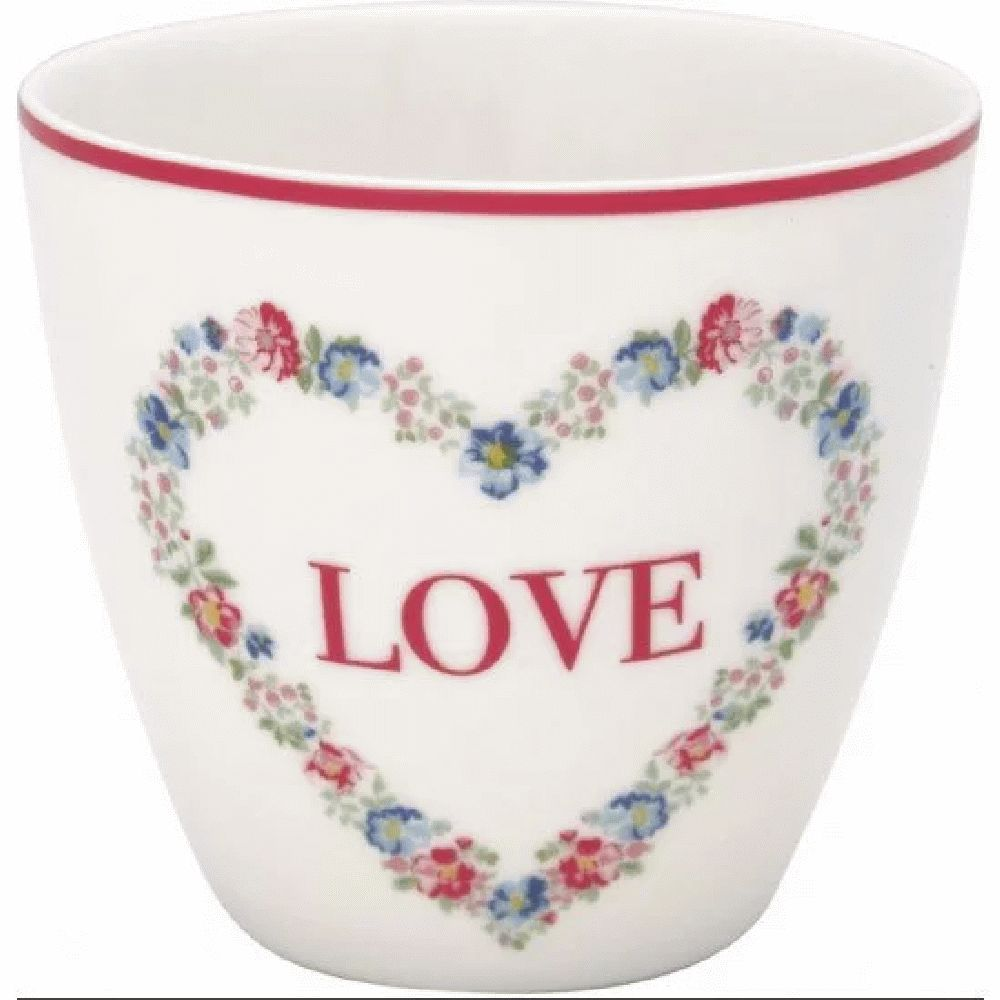GreenGate Heart Love White SS21