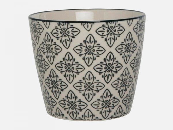 Casablanca Potteskjuler - Sort mønster fra Ib Laursen