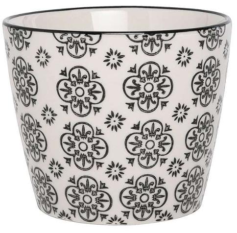 Casablanca Potteskjuler - Sorte ornamenter fra Ib Laursen